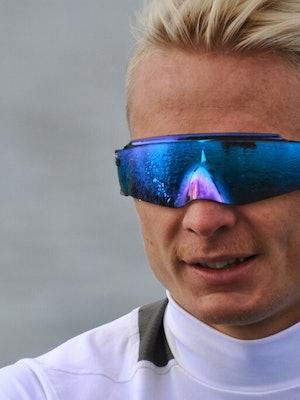Jo Sondre med sportsbrille Kato fra Krogh Optikk