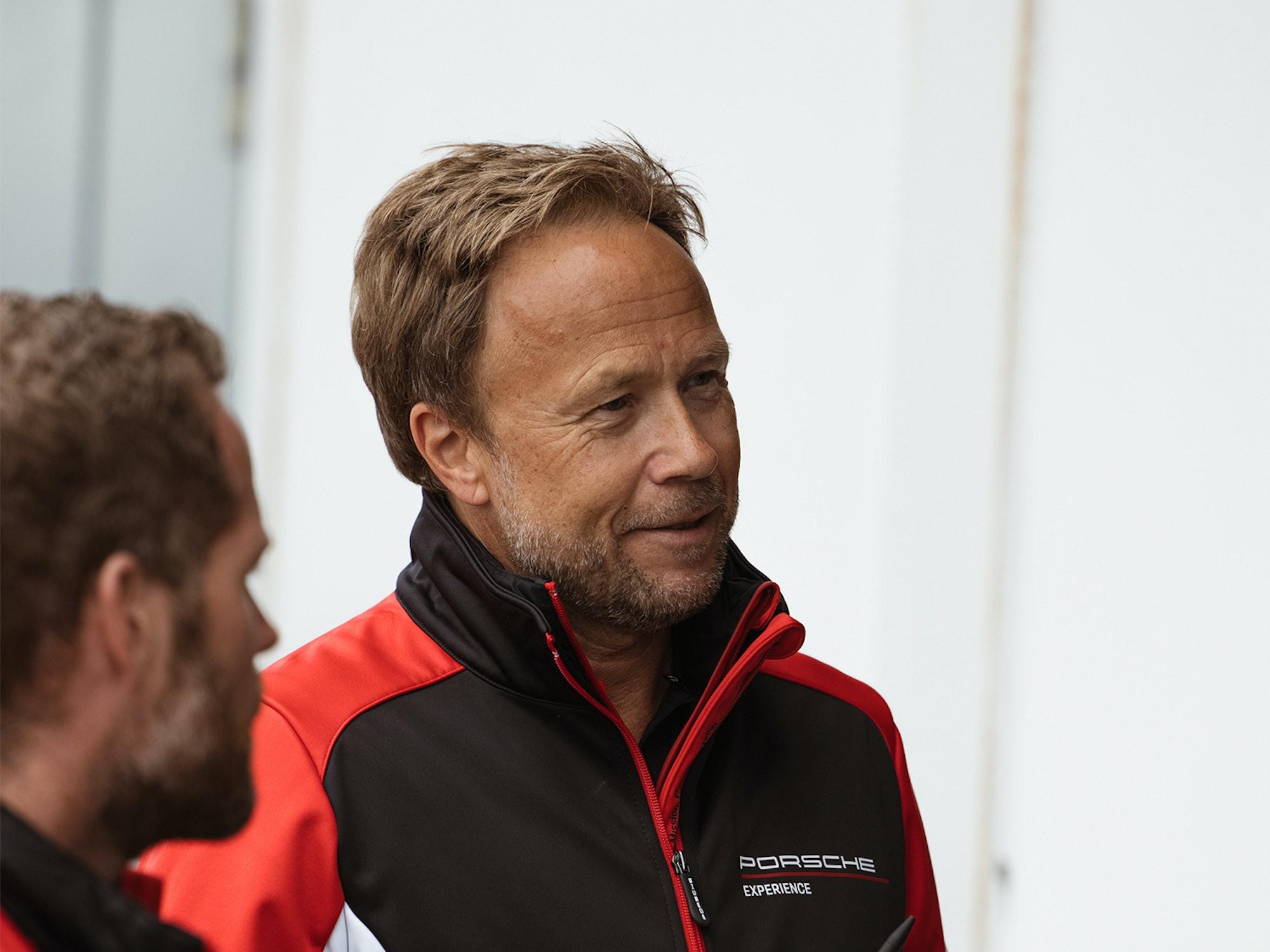 Proffsjåfør og sjefsinstruktør Christian Lauenborg
