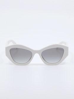 Bilde av solbrille i farge hvit fra Prada