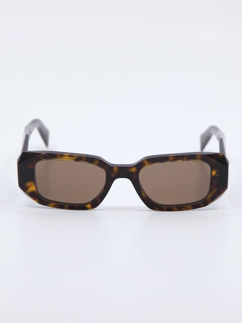 Bilde av solbrille fra Prada i farge havana