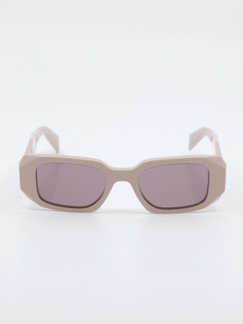 Bilde av solbrille fra Prada i farge Powder