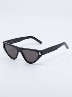 Bilde av solbrille SL468 fra Saint Laurent i farge sort