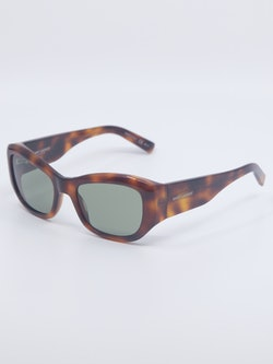 Bilde av solbrille i farge havana fra Saint Laurent, modellnummer SL 498