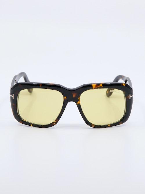 Bilde av oversized solbrille fra Tom Ford