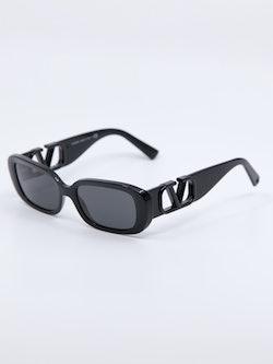 Bilde av solbrille fra Valentino i farge sort