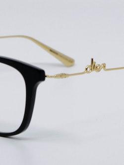 Nærbilde av brille Diorsignature