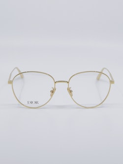 Bilde av rund metallbrille fra Dior