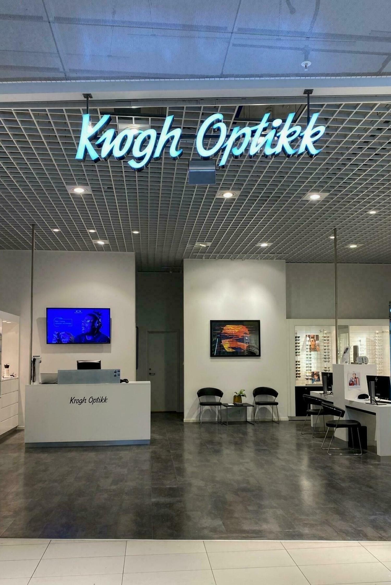 Butikk Krogh Optikk Sirkus i Trondheim