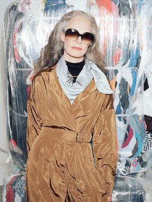 Bilde av modell med solbriller fra Celine