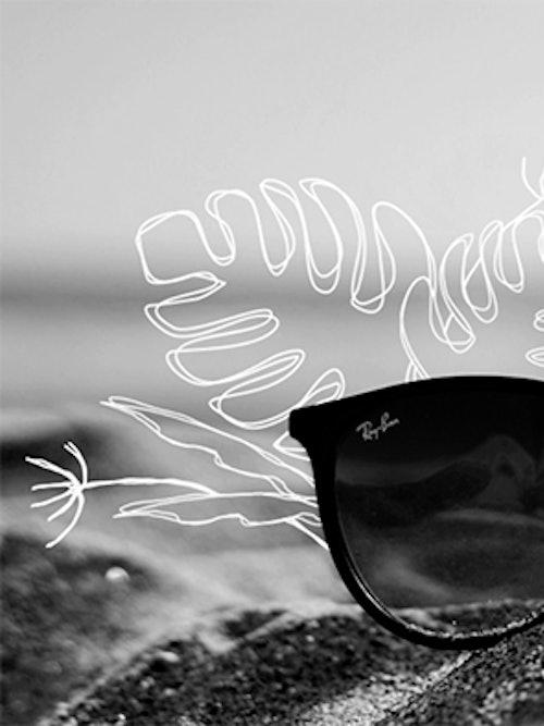 Bilde av rayban solbriller til barn fra Krogh Optikk