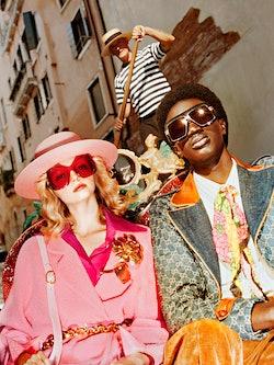 Kampanjebilde fra Gucci