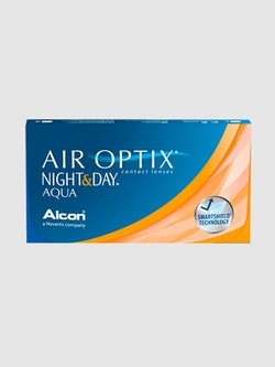 Bilde av linseesken til AIR OPTIX NIGHT & DAY AQUA