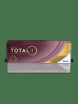 Bilde av linseeske med linser for 1 måned fra Dailies Total1