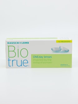 Bilde av en linsepakke fra BioTrue Oneday for Presbyopia