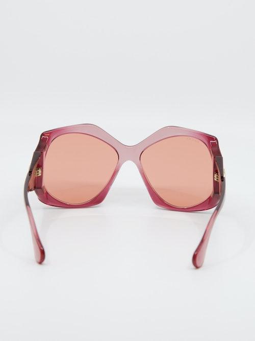 Bilde av solbrillen Gucci GG0875s fra Krogh Optikk