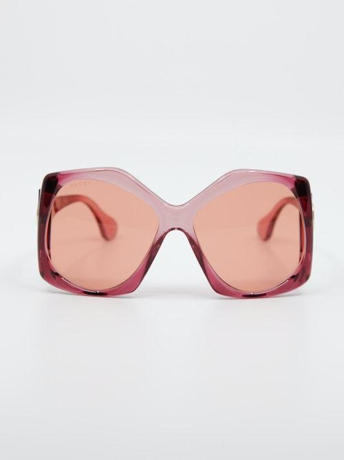 Bilde av solbrille fra Gucci GG0875s fra Krogh Optikk