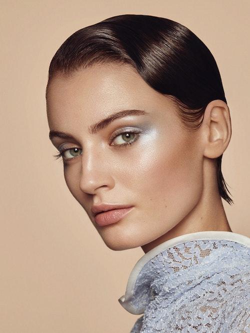 Bilde av modell fra linsekampanje